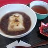 信水堂 - 料理写真:ぜんざい   北海道産大納言小豆使用800円