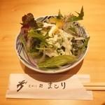 芝大門 鮨まとり - サラダ