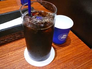 カフェデリツィア さいたま新都心店 - セットのアイスコーヒー@2010/6