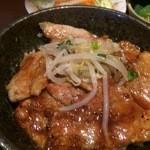 群馬名物 麦豚丼の上州亭 - 麦豚丼アップ【料理】