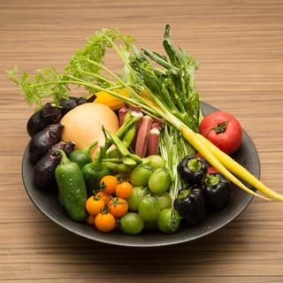 新鮮な福岡野菜と江戸野菜の産地直送