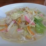 アサヒ食堂 - ミルキー豚骨スープ