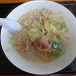 アサヒ食堂 - ちゃんぽん650円