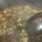 セロリおすすめ麻婆豆腐