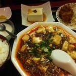 44351784 - 麻婆豆腐セット