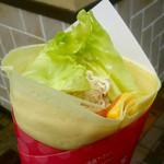 クレージークレープス - ベーコン・チーズ・ツナ