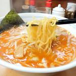 北海道ラーメン 赤レンガ - オロチョンラーメン