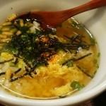 やきとり大吉 - スープ茶漬け