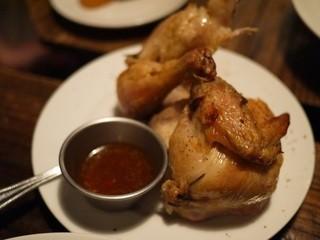 ブラッスリーザン - 目玉のひな鶏のロティ♡とりわけスキルを磨こうと思いましたorz
