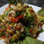サイフォン - ヤムマクアパオ(焼き茄子サラダ)