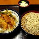 天丼てんや - かきと芝海老の小町!(2015,11/07)