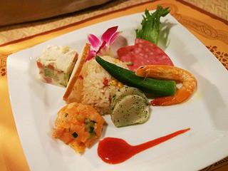 ポリネシアンテラス レストラン - 前菜の盛り合わせ(ディナー)