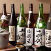 新日本料理 翠祥 - ドリンク写真:『純米酒の地酒色々♪』