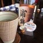 アジアン カフェ NOY'S - 流動食は浦霞さん。