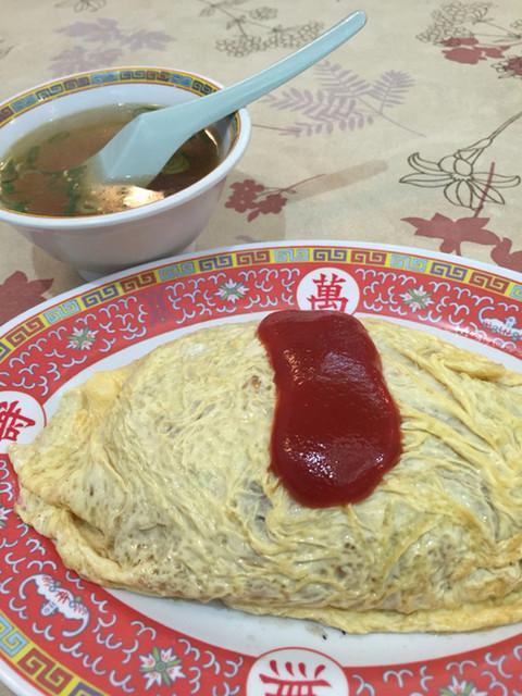 中華料理まるい飯店 - 御飯は少なめにしてもらってます。