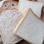 44359275 - 食パン & 全粒粉食パン