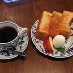やまさき珈琲店 - モーニングセット