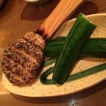 野崎酒店 - 愛媛産 焼麦味噌 きゅうり添え 580円