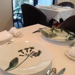 ル・マルカッサン ドール - リモージュのお皿が素敵です