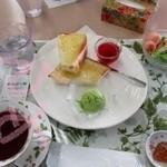 姫路ばら園ローズカフェ - 料理写真: