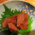 瓢亭MARU - イカの肝沖漬け
