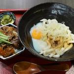 44360789 - 伊勢うどん + ミニ牛丼セット