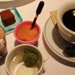 44368195 - デザートとコーヒー