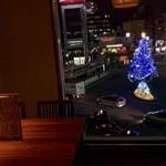 Uo 魚 - 夜景が綺麗です!クリスマスツリー見える席