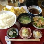 44370377 - 牡蠣の天ぷら定食 850円