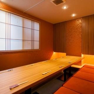 《完全個室》12名席_接待・会食に2階掘りごたつ