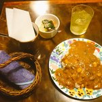蒼紫 - 豆カレー