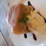 カフェ シュクラン - アールグレイのタルトタタン