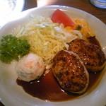 レストラン アーサー - チキンハンバーグ・しょうゆソース