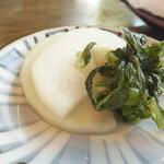 レストランデラシネ - ランチ(魚フライとハンバーグ)¥980