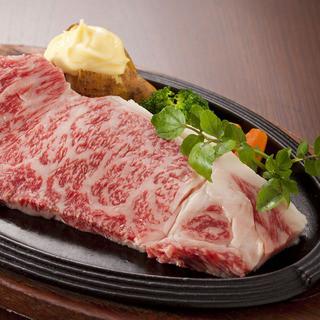 近江牛【極上】サーロインステーキ(200g)…8,600円