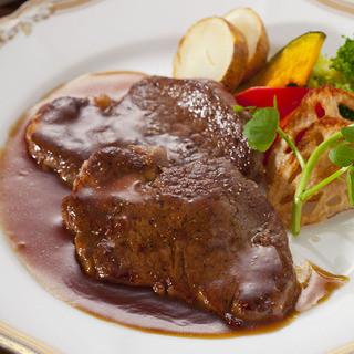 近江日野牛フィレ肉を使った、お得なディナータイム限定コース