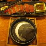 ばんや - 鹿の石焼(蓼科産) 880円(2015.10)
