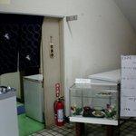 練馬東税務署 食堂 - ドア右上に「食堂」の札