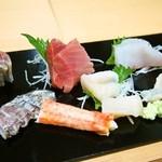 鮨かわむら - 料理写真:お造り盛り合わせ