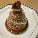 ラピラータ - 料理写真:和栗のモンブラン2015.11月
