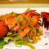 ラサーラ - 料理写真:ロブスター赤エビ・蟹味噌 濃厚トマトクリームソースパスタ(2食限定)