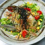 寿司居酒屋 平八郎 - 大根サラダ