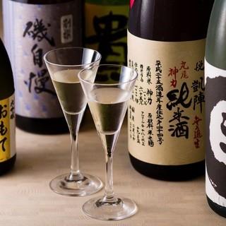 洋食屋なのに日本酒!?厳選日本酒多数揃えてます!