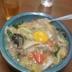 大養軒 - 中華丼520円