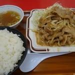 くるまやラーメン - (2015/9月)「焼肉定食」