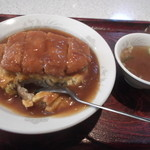 珍々亭 - ボルガ天津丼~。