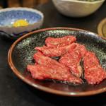 炉萬館 - 料理写真:すき焼きカルビ☆