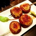 焼鳥 Ajito - 椎茸の肉詰め!柚子がきいてて◎