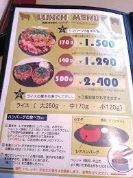 TOKIO - ハンバーグにすればよかったのかな