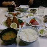 かご平 - 20151107 アジフライ定食